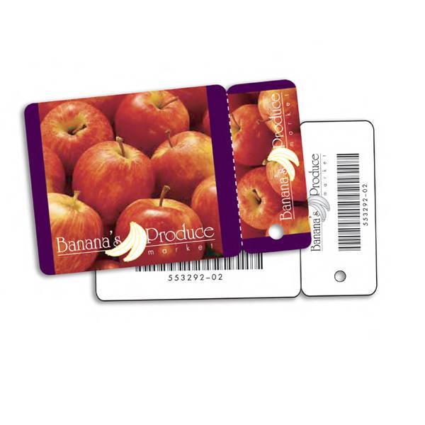 Plastic mini card with