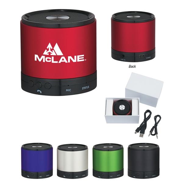 Round Speaker.  Wireless