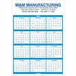 Promotional Contractor Calendars-100 2+ Colors