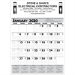 Promotional Contractor Calendars-370 2+ Colors