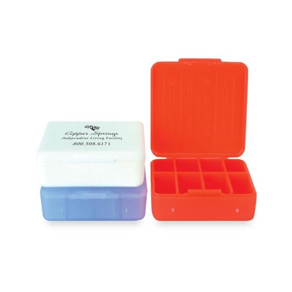 The compact pill box