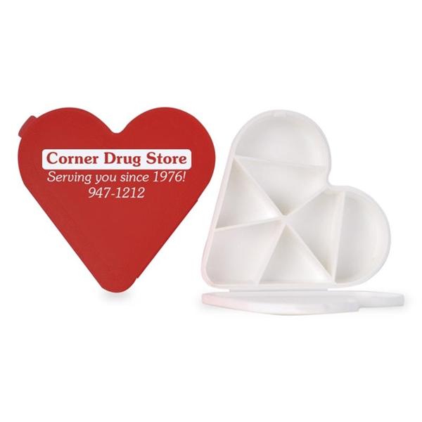 The heart shaped pill