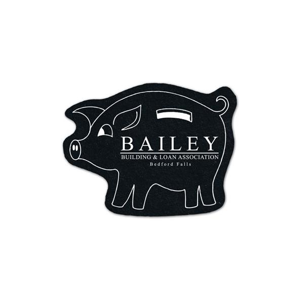 Piggy Bank Flat Tire