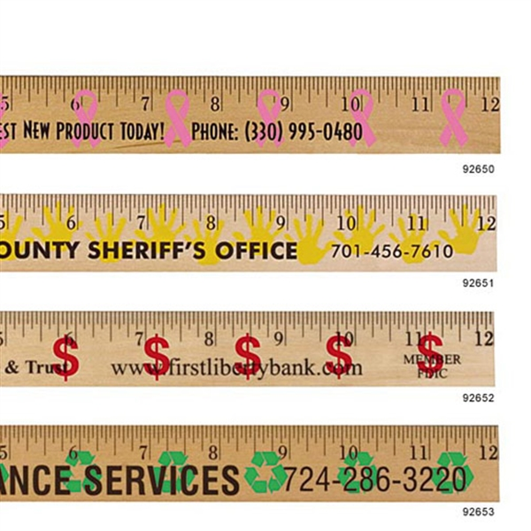 Recycling Background Rulers -
