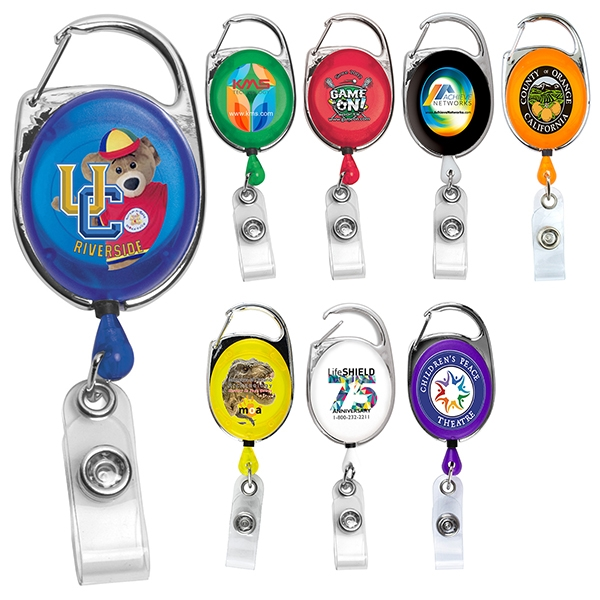 Full color carabiner style