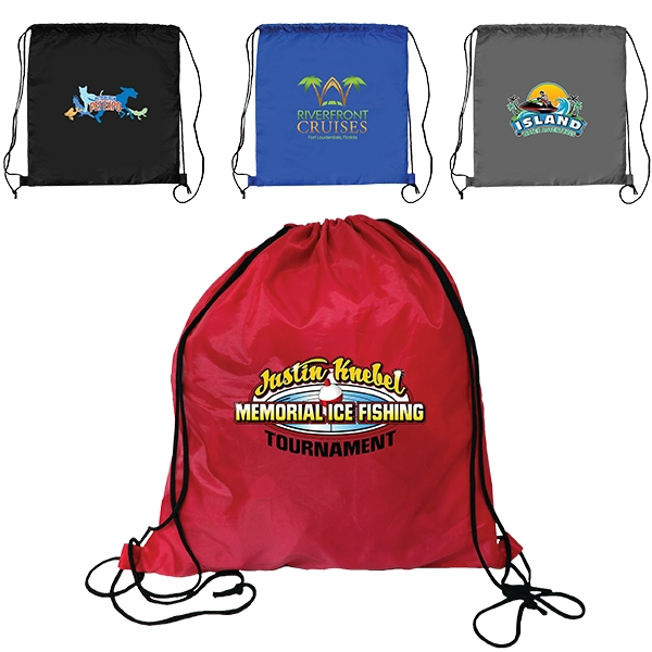RPET Drawstring Backpack, Full