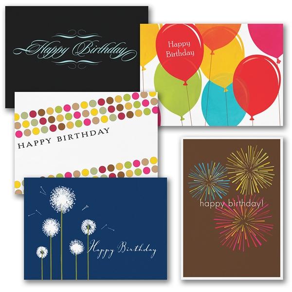 Birthday card assortment pack