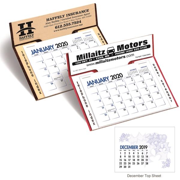 TMemo 2020 Desk Calendar.