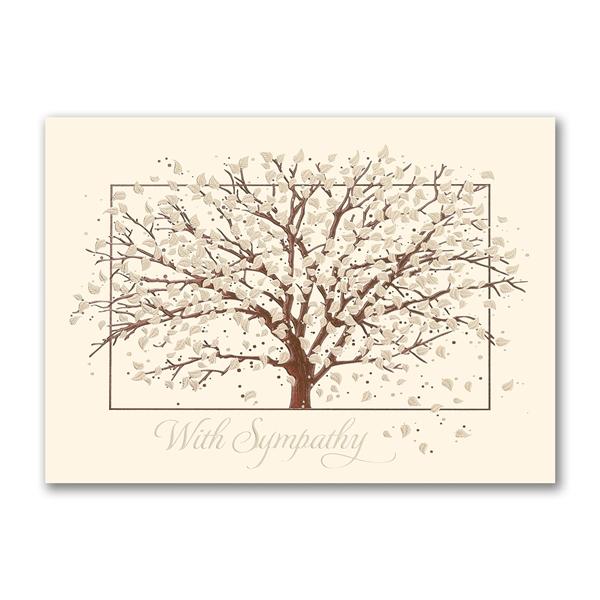 Sympathy Tree sympathy greeting