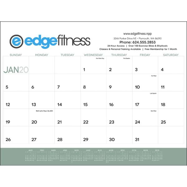 2020 Desk Calendar Pad.