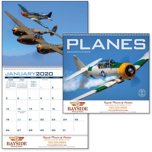 Planes 2020 Calendar. Soar