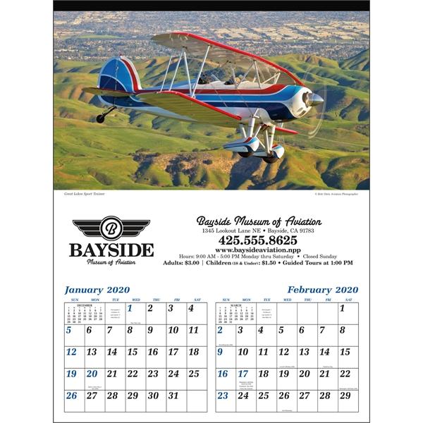 Planes 2020 Calendar. Take