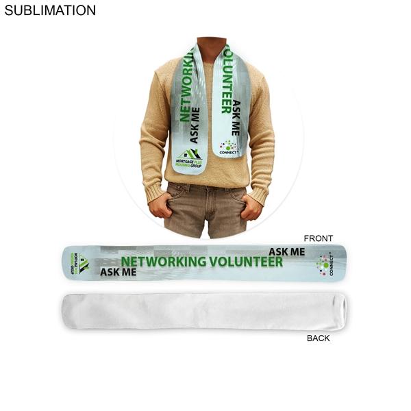Imported econo microfleece scarf