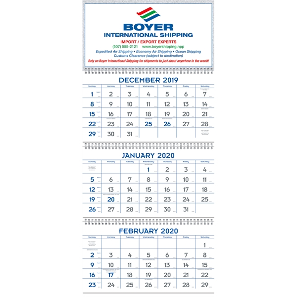 Commercial Planners 2020 Calendar