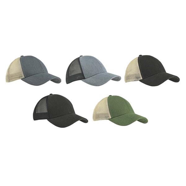 Structured Hemp Trucker Cap