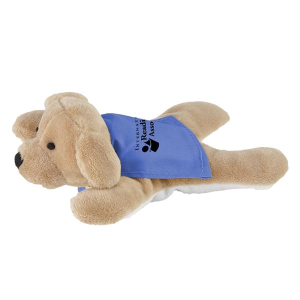 Stuffed dog with a