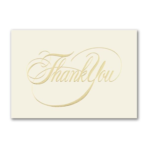 Elegant Thank You greeting