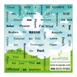 Promotional Business Card Magnets-111503