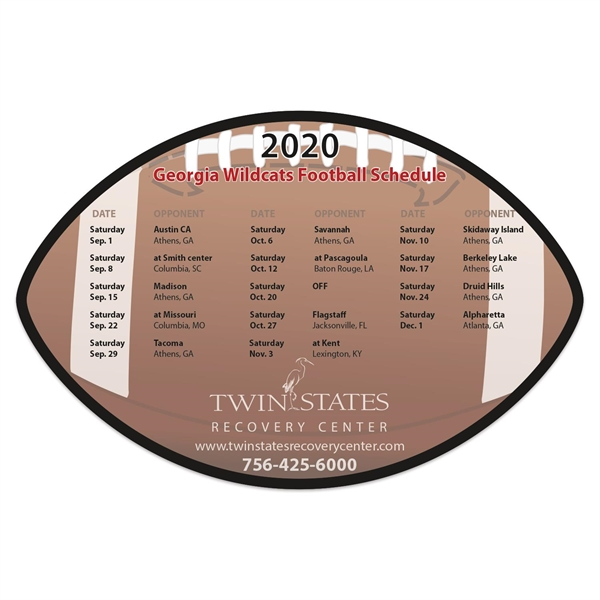 Schedule magnet made of