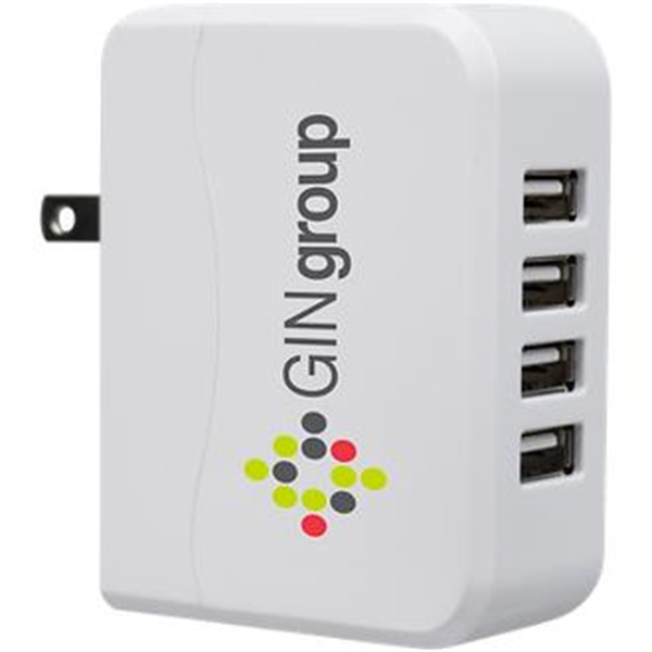 USB wall charger with