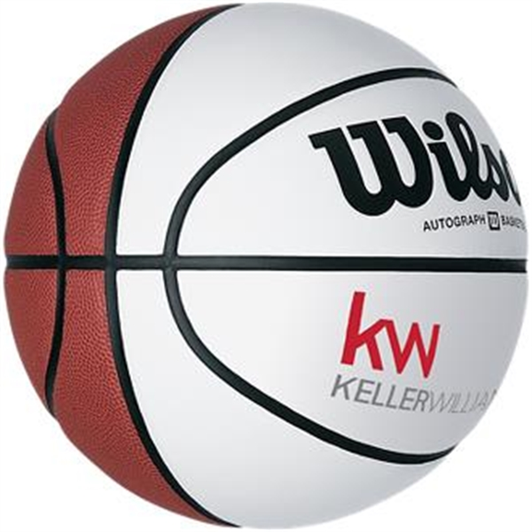 Wilson® basketball with four