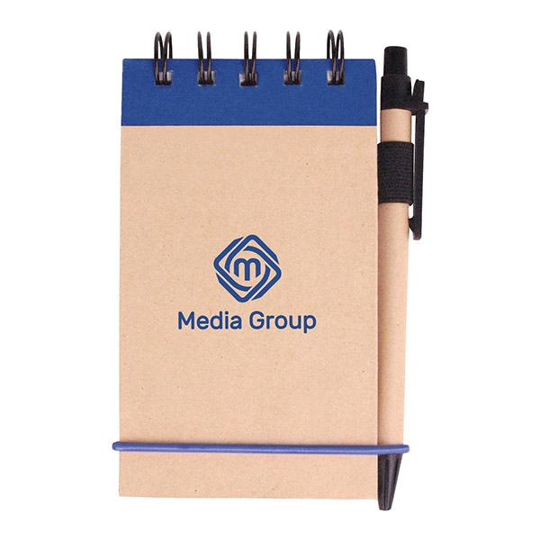 Kraft jotter with recycled