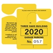 Promotional Parking Permits-58401