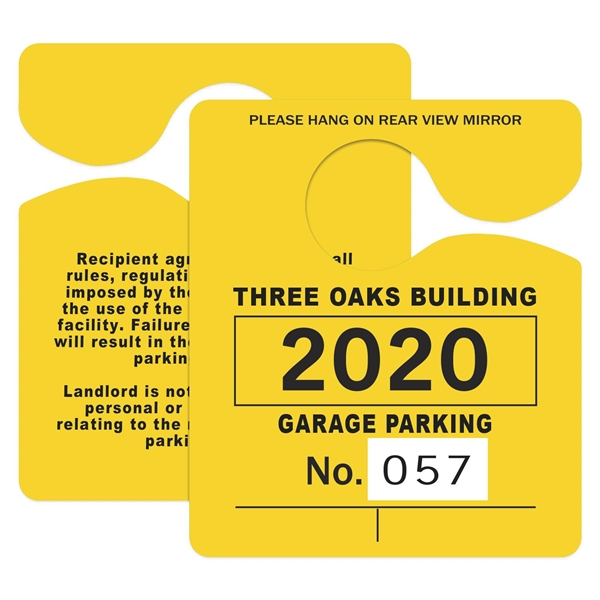 Product Option: Numbered Parking