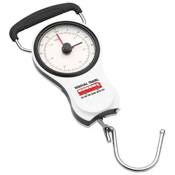 Portable luggage scale with