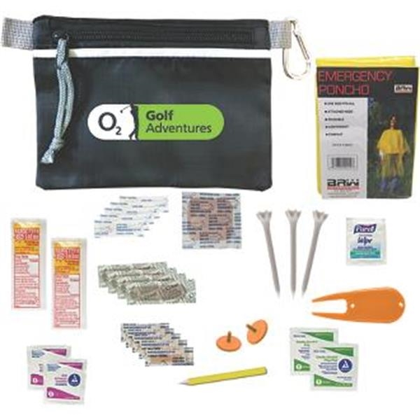 Practical golf kit with