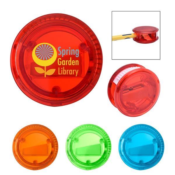 Plastic pencil sharpener with