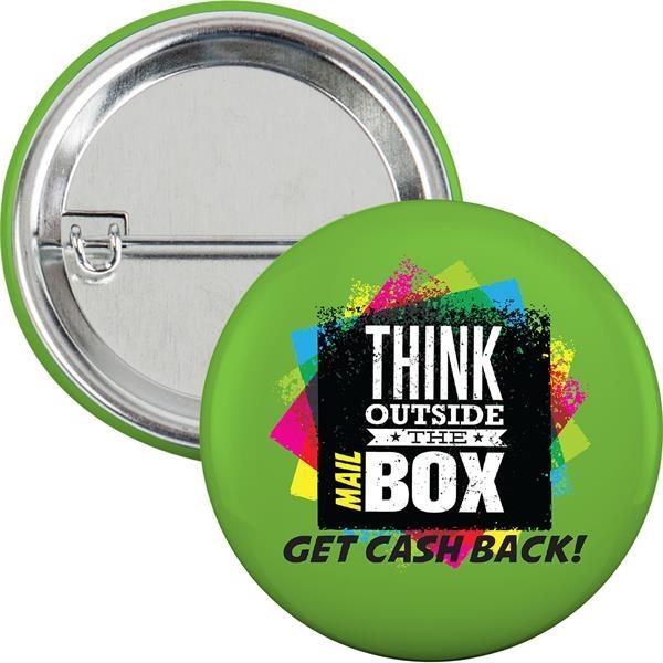 Round laminated button (2