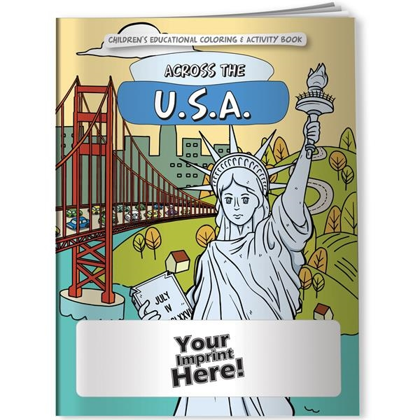 Across the USA coloring