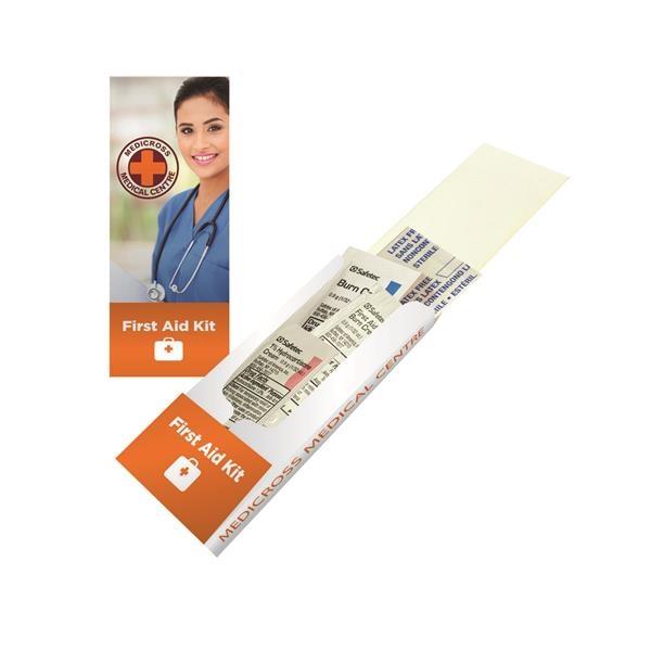 First aid pocket kit.