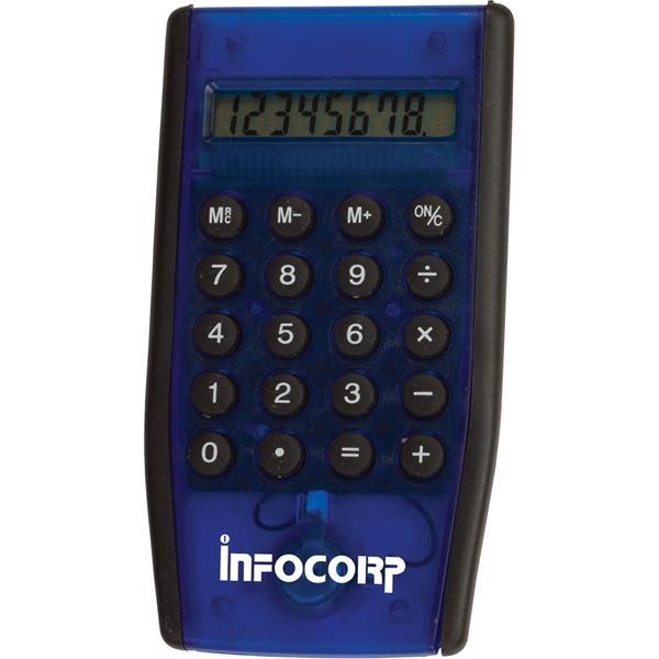 Full-function Slimline calculator with