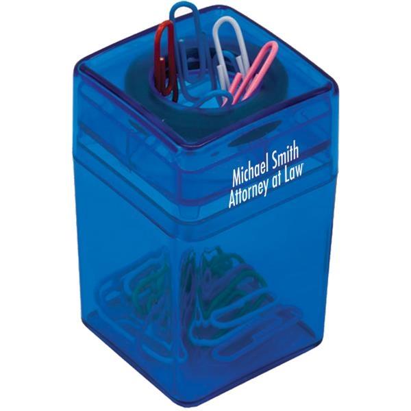 Paper clip dispenser available