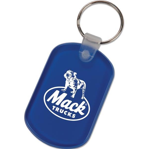 Key tag made of