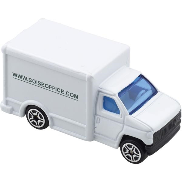Die cast white delivery