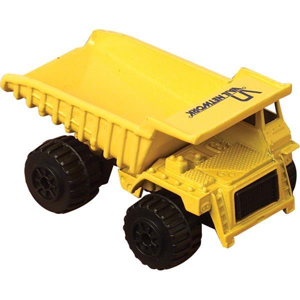 Die cast yellow dump