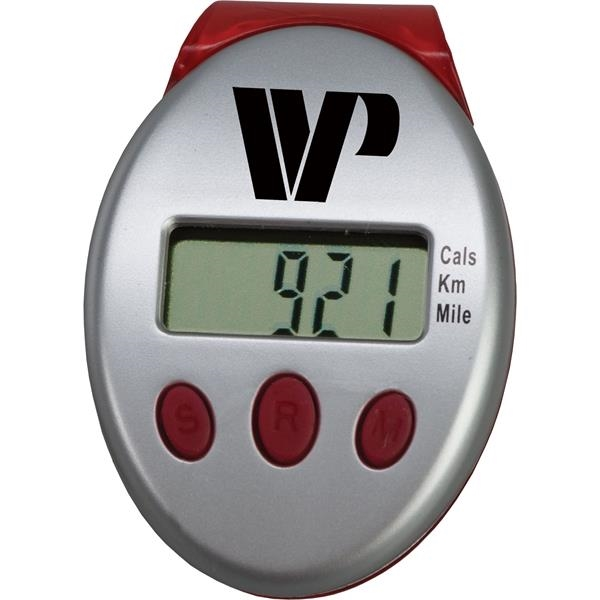 Clip-on pedometer measuring 1