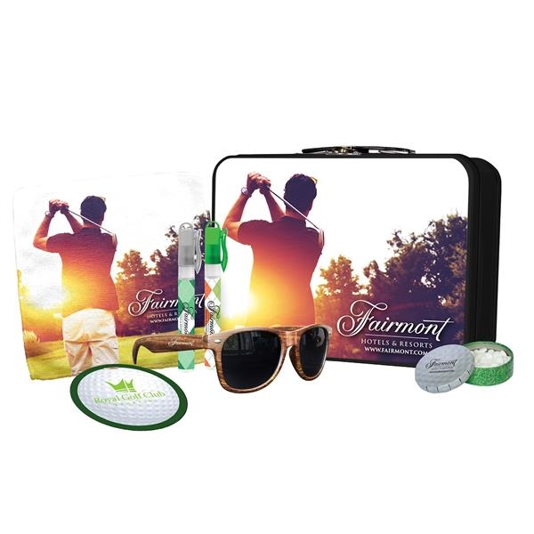 Golf themed lunchbox kit