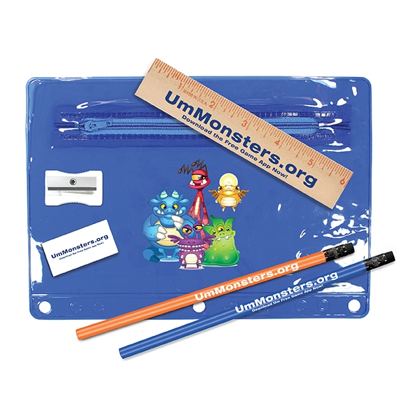 Translucent vinyl school kit,