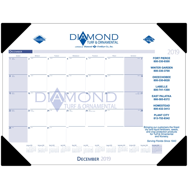 13 month desk pad