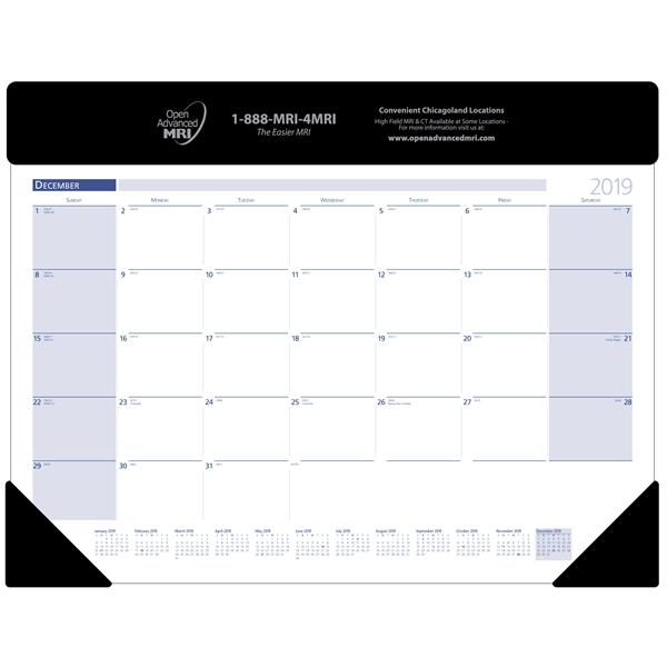 13 month desk pad