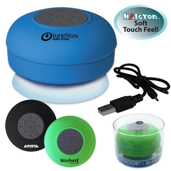 Halcyon® Waterproof Bluetooth® Speaker