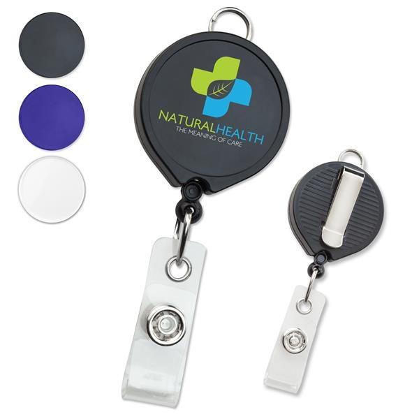 Custom badge reels feature