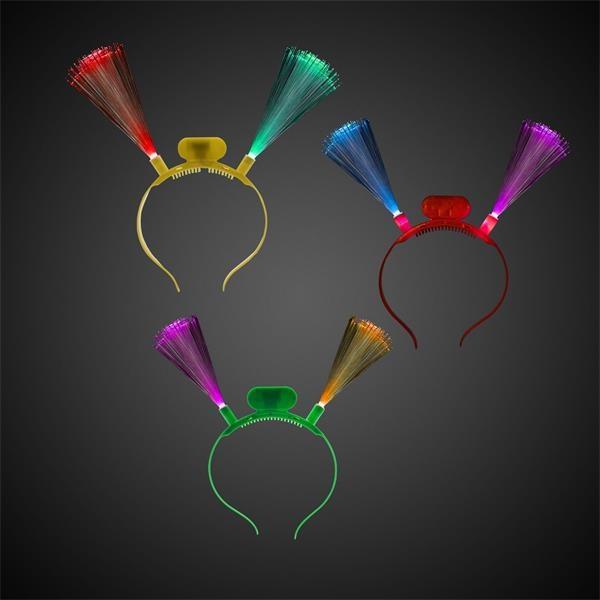 Assorted color LED fiber
