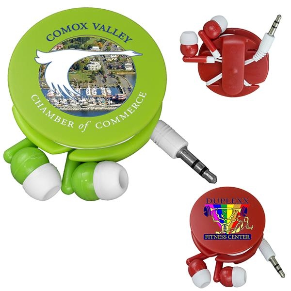 Earbud travel set with