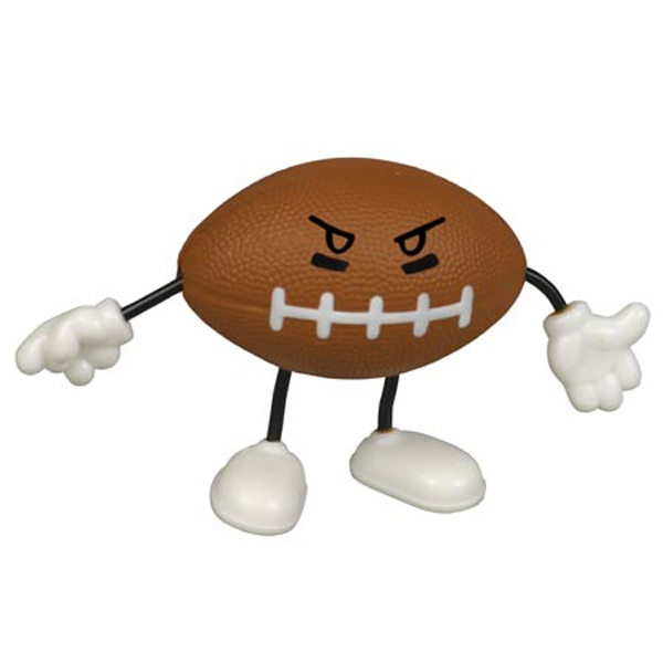 Football figure stress reliever