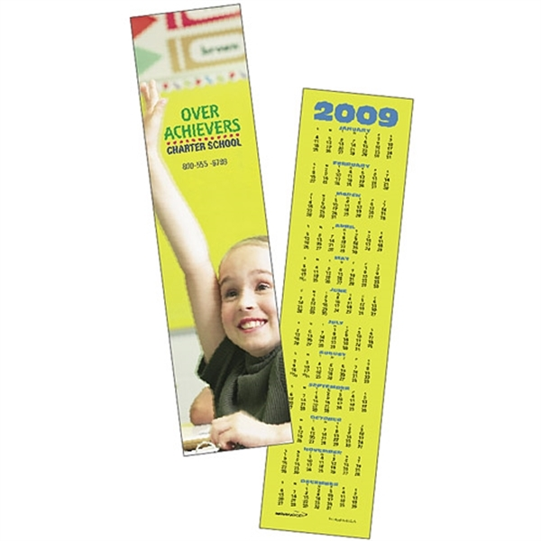 Custom Bookmark 2020 Calendar